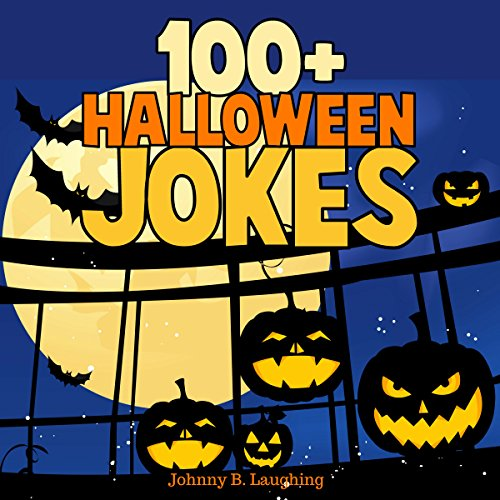 100+ Halloween Jokes audiobook cover art