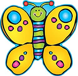 Carson Dellosa D.J. Inkers Butterfly Two-Sided Decoration