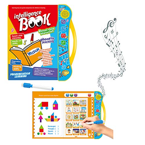 Janly Clearance Sale Education Toys, English finger point reading children's early education toy e-book, Toys and Hobbies for Kid's Gift
