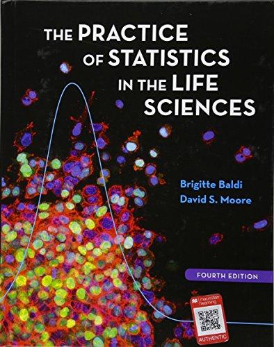 Practice of Statistics in the Life Sciences