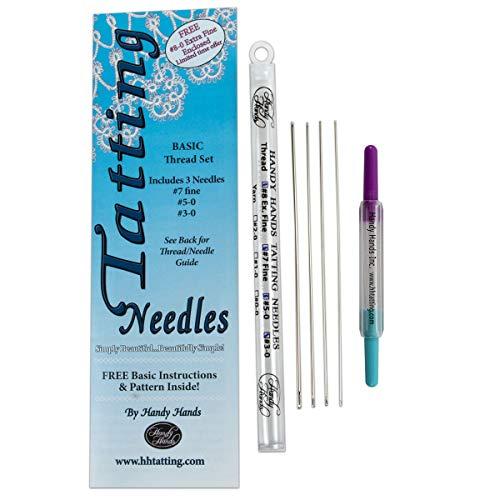 Handy Hands Tatting Needles For Thread-Set of 3