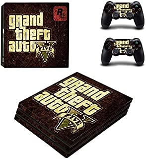 Playstation 4 Pro Skin Set – role-playing game - HD Printing Vinyl Skin Cover Protective for PS4 Pro Console and 2 PS4 Controller by ANIK RANGANATHAN.