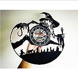 Reloj de Pared de Vinilo de El Señor de los Anillos de Yddlie - Decoración Moderna de la habitación Hecho a Mano para Amigos y Alguien Que amas