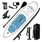 FEATH-R-LITE Inflatable Stand Up Paddle Board 10'x30''x6'' Ultra-Light...