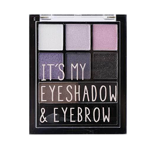 Kit de palette de fard à paupières professionnel poudre ombre à paupières poudre facile à porter yeux ensemble de palette de maquillage cosmétique - 3#
