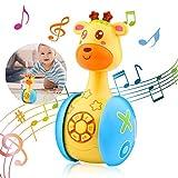Baby Tumbler Spielzeug,Tumbler Spielzeug für Kinder,Spielzeug Cartoon Tumbler,Baby Spielzeug Cartoon Tumbler,Musikalisches Babyspielzeug,Musikspielzeug Baby Spielzeug,Babyspielzeug ab 6 Monate Plus