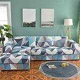 Funda de sofá en Forma de L, 1 Pieza Fundas de sofá Suaves para Bricolaje Funda de sofá elástica para sofá Chaise Sofá en Forma de LU-m Loveseats 145~185cm (57~73 Pulgadas)