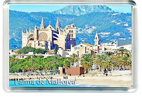 DreamGirl H292 Palma de Mallorca Imán para Nevera Spain Travel Fridge Magnet