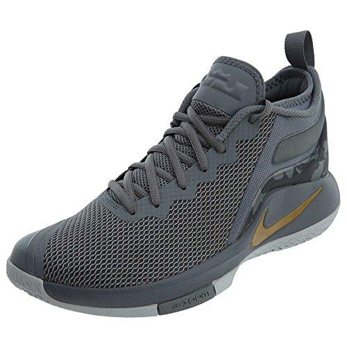 Nike Lebron Witness II Lebron James Men Basketball Shoes - 8 White
