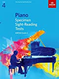 ABRSM Piano Specimen Sight Reading Tests: From 2009 (Grade 4) - Partitions