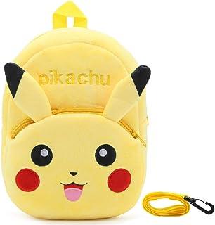 Pokemon Mochila para niños -YUESEN Pikachu Regalos para bebés Mochila para niños pequeños Mochila Pokemons School Bag Characters Mochila para niños