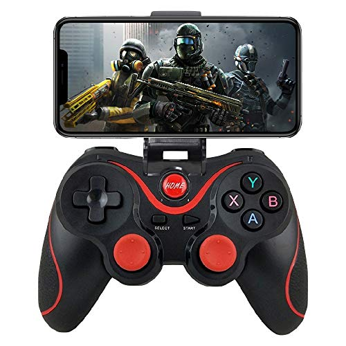 iOS Android Controller, Megadream Wireless Key Mapping Gamepad Joystick Perfect for PUBG & Fotnite & More, Compatible for iOS Android iPhone iPad Samsung Galaxy Other Phone - No Simulator Needed