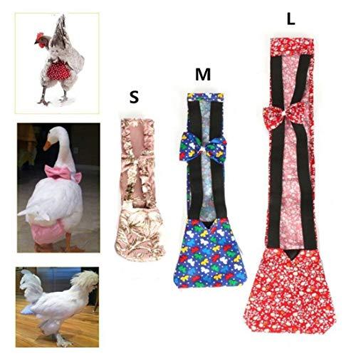 SHINA Pet Goose Chicken Duck Poultry Adjustable Cloth Diaper Farm S