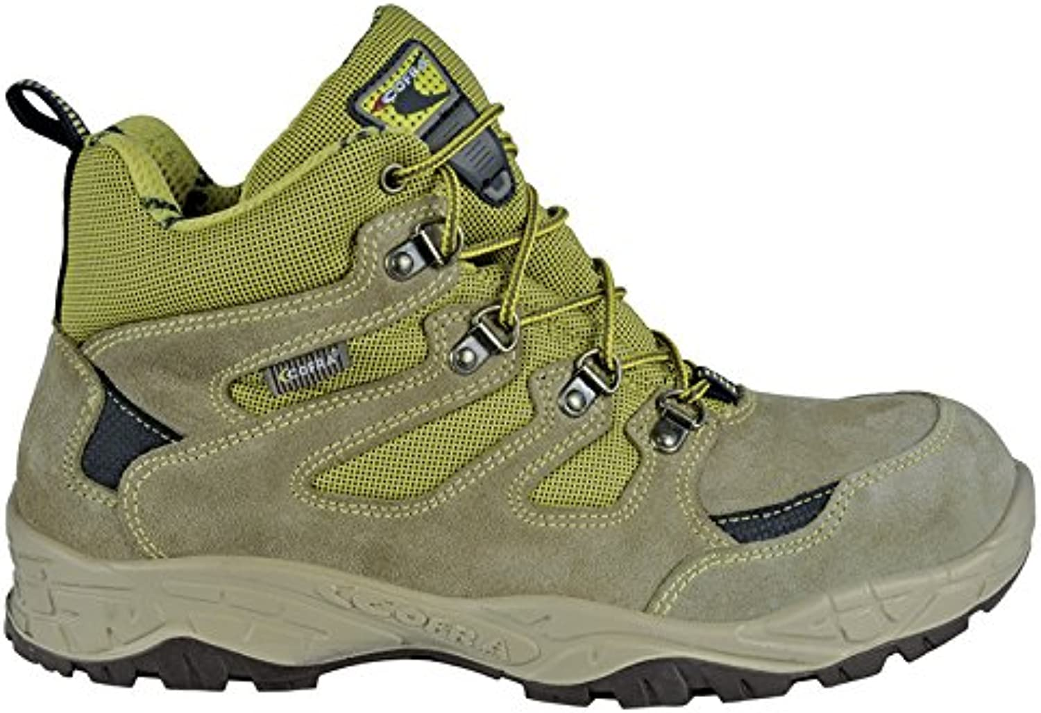 Cofra 22300-000.W42 Size 42 S1 P SRC Crevasse  Safety shoes - Grey Green