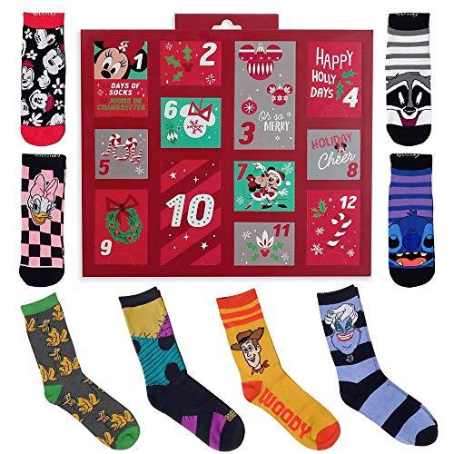 Disney Holiday Advent Sock Calendar for Women