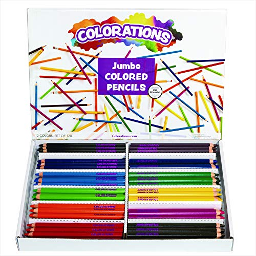 Colorations JPPENCIL Jumbo Colored Pencils 0 (Pack of 120)