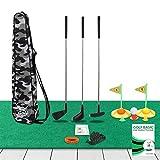 (LAB Tested) - Premium Kids Golf Clubs 3-5 - Kids Golf Set - Toy Golf Set - Toddler Golf Set - Golf Toys for Kids - Mini Golf Set - Baby Toddler Golf Clubs - Plastic Play Golf Clubs - Age 2 3 4 5 6 +