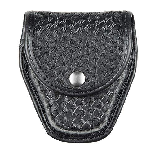 Bianchi, 7917 AccuMold Elite hidden Snap Double Cuff Case, Basket Weave