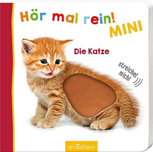Hör mal rein! Mini - Die Katze (Foto-Streichel-Soundbuch)