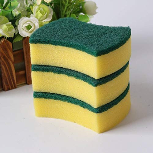 N-B 20 Piezas de Esponja para Lavar Platos, Esponja de Limpieza, toallita mágica, Estropajo Multifuncional para Cocina y baño