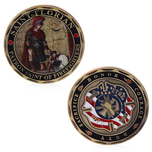 zijianZZJ Moneta commemorativa Rare US FBI San Michele Commemorative Challenge Coins Collection Token Art Craft
