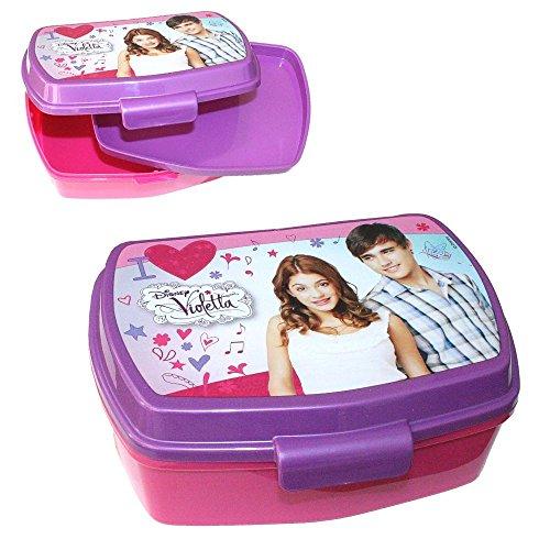 Violetta Brotdose mit Einsatz Box Frühstück | für Kinder | Vesper Dose