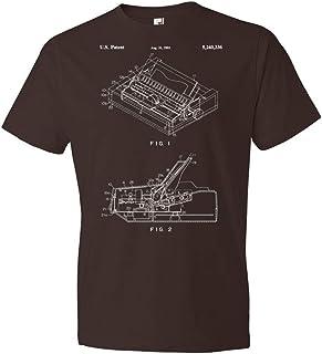 Dot Matrix Printer T-Shirt, Computer Lab Tee, IT Tech Gift, Printer Blueprint