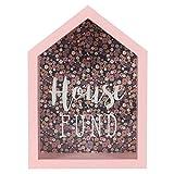 Jones Home & Gift Algo Diferente al por Mayor Florella casa Adorno de Fondo, Rosa