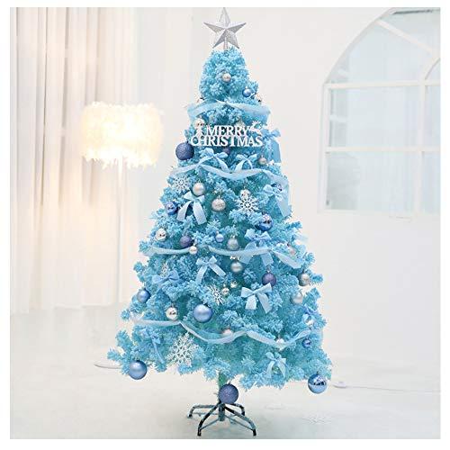 Anabei Net rosso albero di Natale Tiffany blu pacchetto di 1,5 m rosa albero della neve ins vento live Christmas scene layout, 2.1M