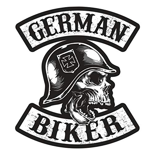 Aufkleber Patch German Biker (Wetterfest)