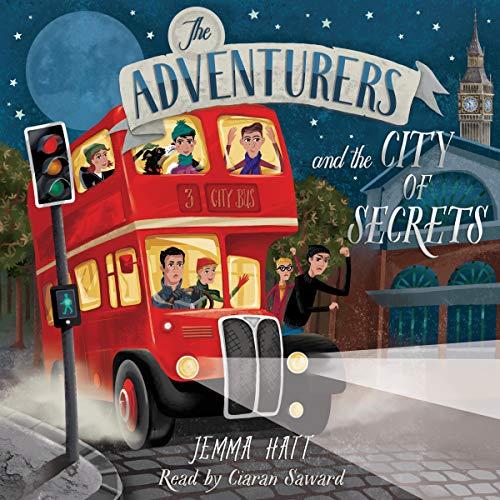 Couverture de The Adventurers and the City of Secrets