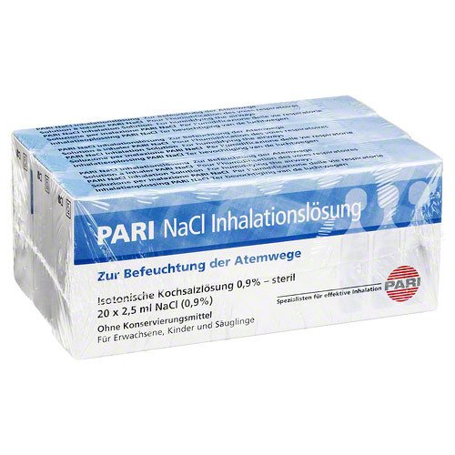 PARI NaCl Inhalationslösung Ampullen 150 ml