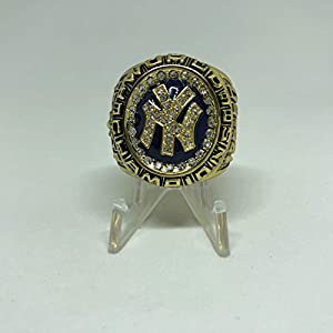 1998 New York Yankees Andy Pettitte World Series High Quality Replica Ring Size 11-Gold Colored