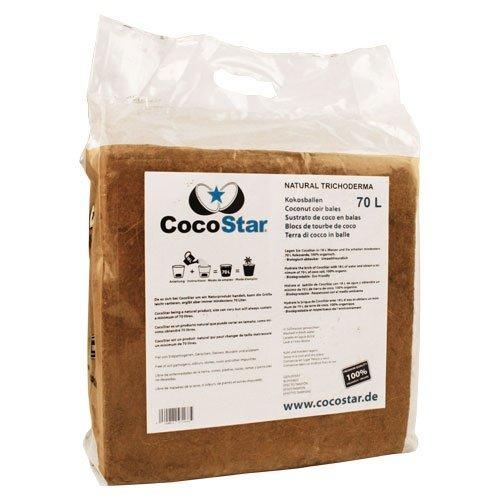 Preisvergleich Produktbild CocoStar Kokosballen,  5kg für 70 l Substrat