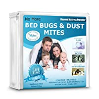 Mattress Protector & Allergen Bed Cover Pads - Queen, King, Twin, Full, Cal, Pillow Top and Crib Sizes. Vinyl Free, Zippered, Hypoallergenic, Waterproof Covers, Bedbug, Dust Mite Proof - Twin Size