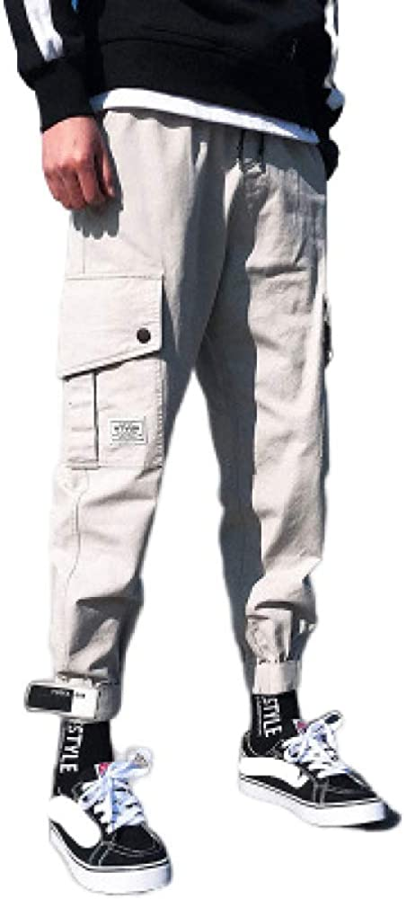 Overalls Men's Pants Multi-Pocket Sale Special Price Persona Trend Reservation Beam
