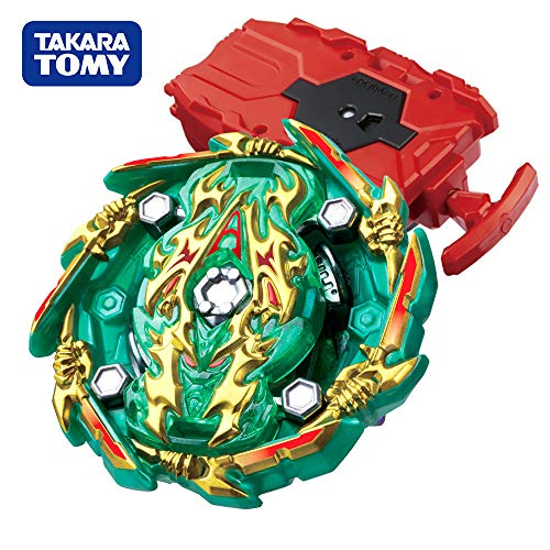Beyblade Burst GT Booster B-135 BUSHIN Booster [HR. KP Heaven Stater Action Figure Set with String Launcher B-108 Red
