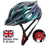 OPALLEY Bicycle Helmet, Safety Adjustable Mountain Road Cycle Helmet Light Bike Helmet, CE Certified...