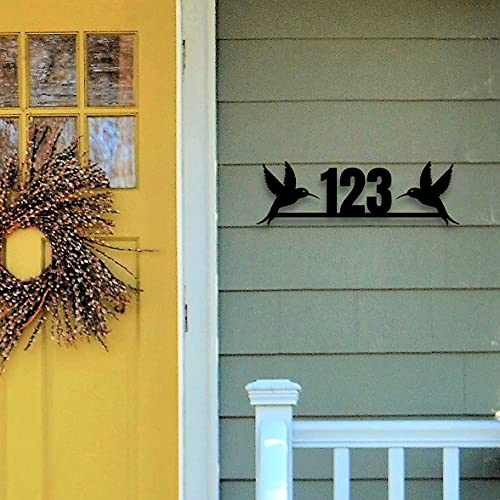 Metal House Number Customized