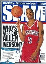 Allen Iverson Autographed Signed Slam Magazine Autograph Beckett Coa Sixers Nba Hof