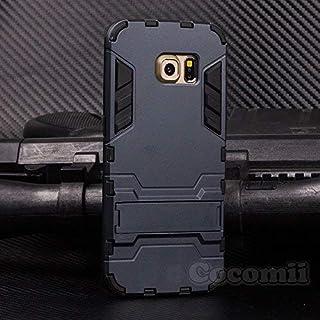 67e909879f6 Cocomii Iron Man Armor Galaxy S6 Edge Funda [Robusto] Superior Táctico  Sujeción Soporte Antichoque