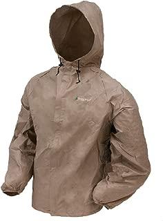 FROGG TOGGS Ultra-Lite2 Rain Jacket,  Khaki,  Size Small