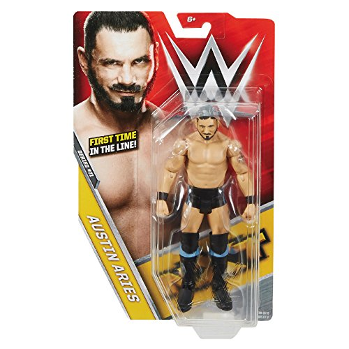 WWE Basic-Serie 71 Actionfigur - Austin Aries - Erste Zeit in The Line WWE Nxt Debüt