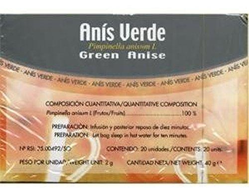 Infusiones Anis Verde 20 unidades de Soria Natural