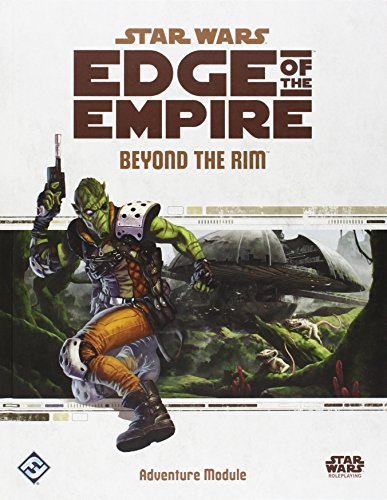 Fantasy Flight Games SWE05 Star Wars Edge Of The Empire RPG: Beyond the Rim Role Play Game