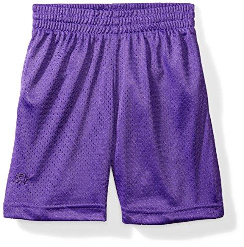 Starter Boys' 7' Mesh Short with Pockets, Amazon Exclusive, Team Purple, S (6/7)