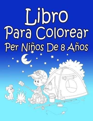 Libro Para Colorear Per Niños De 8 Años