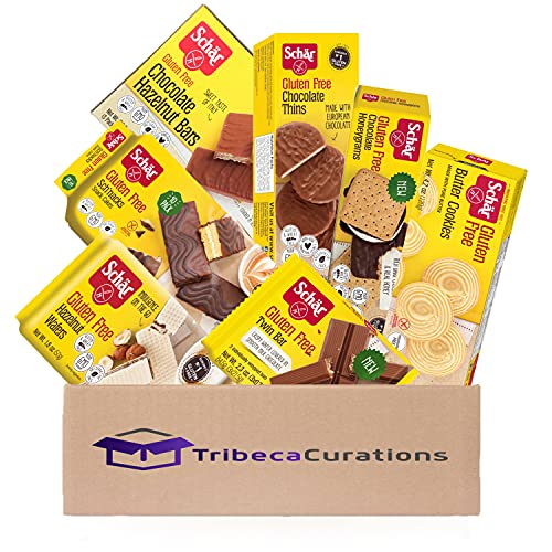 Schar Ultimate Gluten Free Variety Pack | Chocolate Covered Cakes, Cookies, Honeygrams, Thins, Wafers | 7 Count