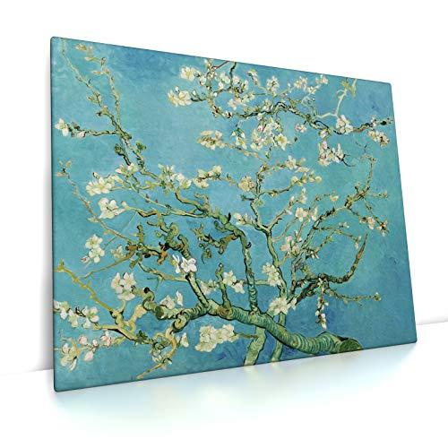 CanvasArts Mandelblüte - Vincent Van Gogh - Leinwandbild (100 x 80 cm, Leinwand auf Keilrahmen)