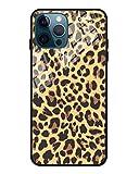 F&X Custodia per iPhone 12 Pro Max – Leopardato motivo leopardato con protezione per fotocamera – Custodia protettiva da donna – antiscivolo